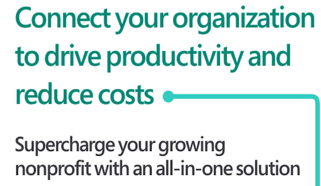 Connect your organization to drive productivity and reduce costs
